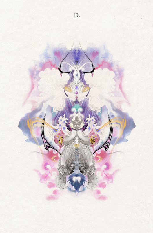 4th Rorschach image from Artwork called 'i-Test' by Bourdon Brindille